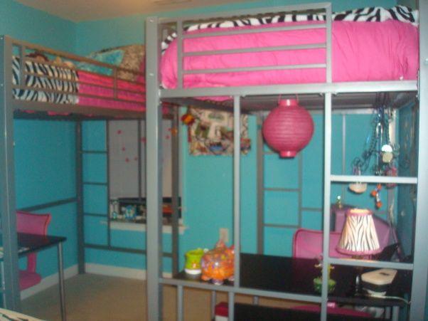 cool tween room colors | Zebra Tween Room Girls - Girls' Room Designs - Decorating Ideas - HGTV ...