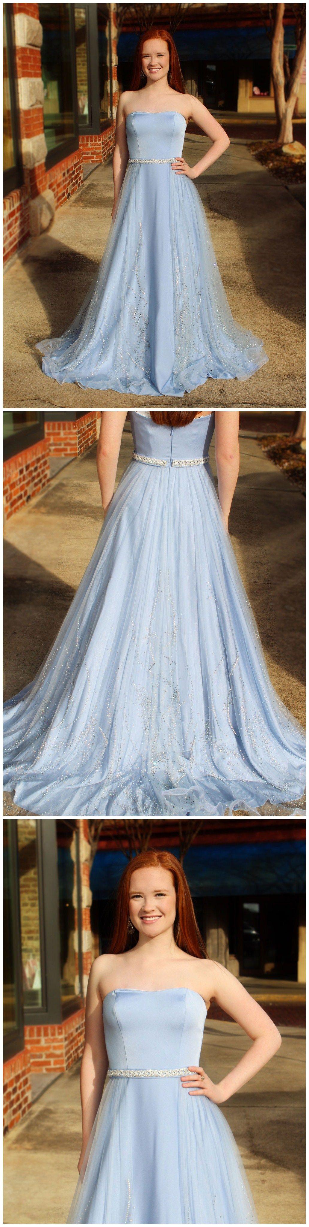 Strapless bra for wedding dress plus size  Elegant Satin Strapless Neckline Aline Prom Dresses With Beadings