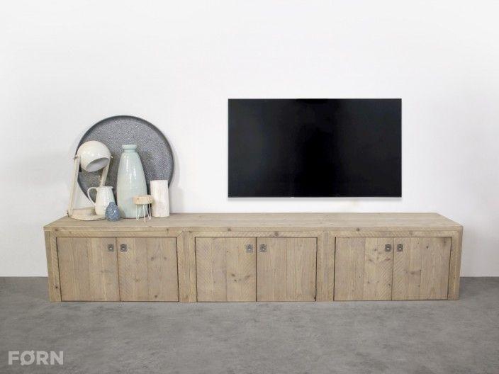Steigerhout Tv Kast : Steigerhouten tv meubel elzas bauholz home decor