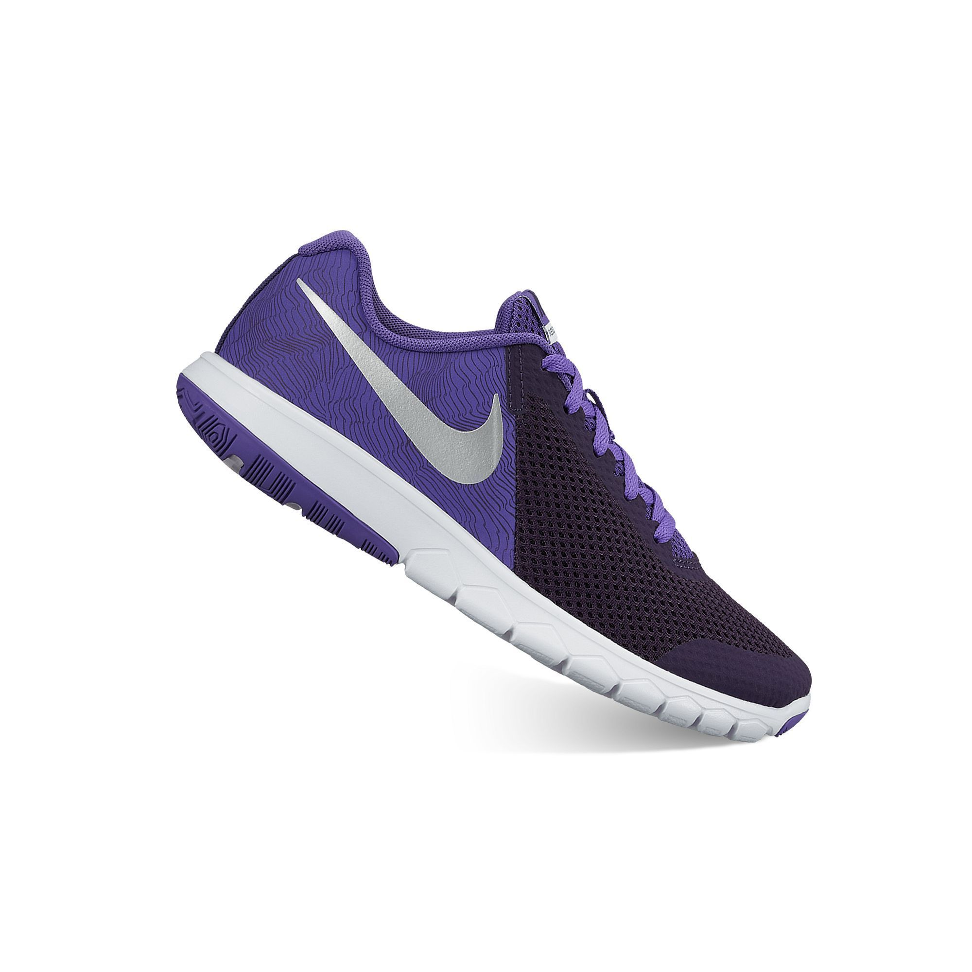 ded4c4145ce7 Nike Flex Experience 5 Print Grade School Girls  Running Shoes