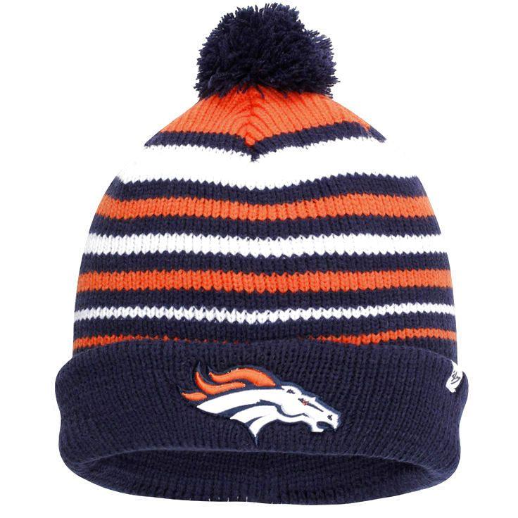 Denver Broncos '47 Brand Incline Cuffed Beanie - Navy Blue - $17.59