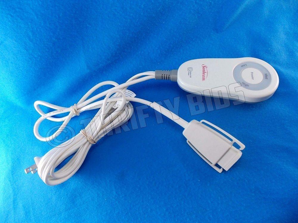 Sunbeam M85ap Electric Blanket Heat Control 3 Prong E23623f Controller 110 120v Sunbeam E23623f Heated Blanket Sunbeam Electricity