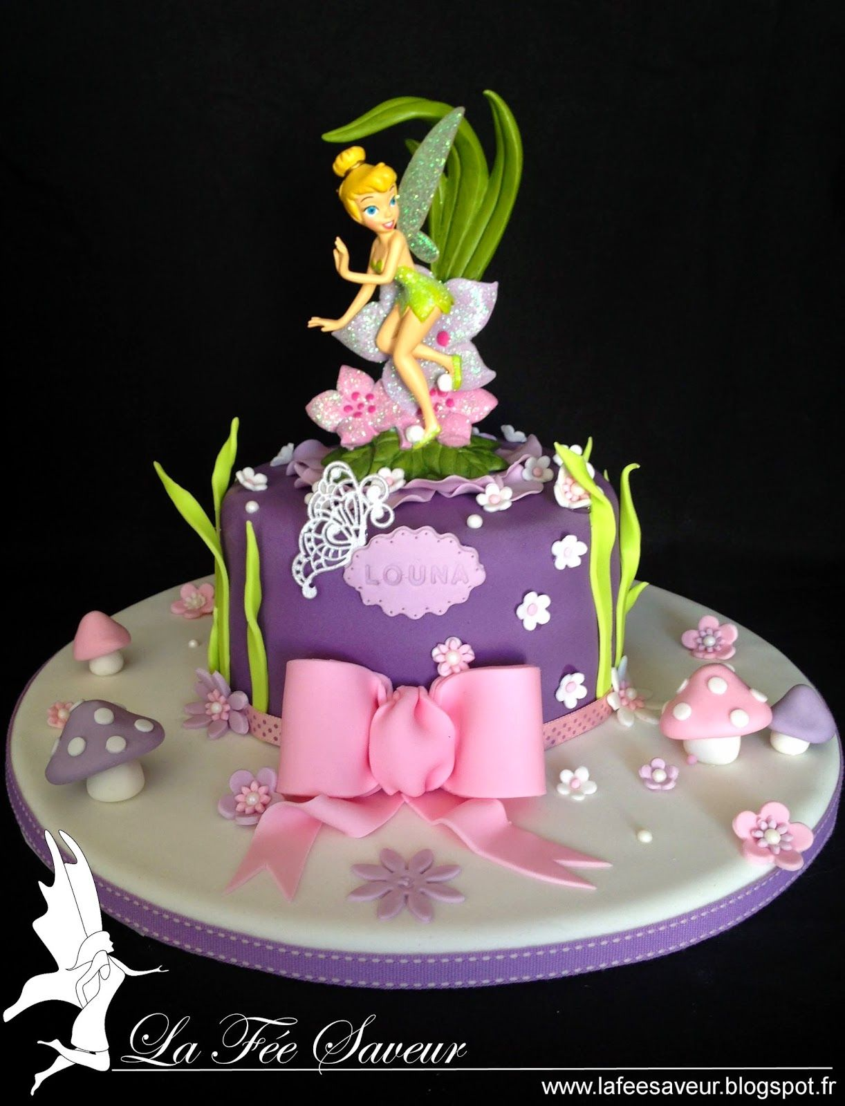 Decoration Fee Clochette Pour Gateau : Decoration gateau fee clochette