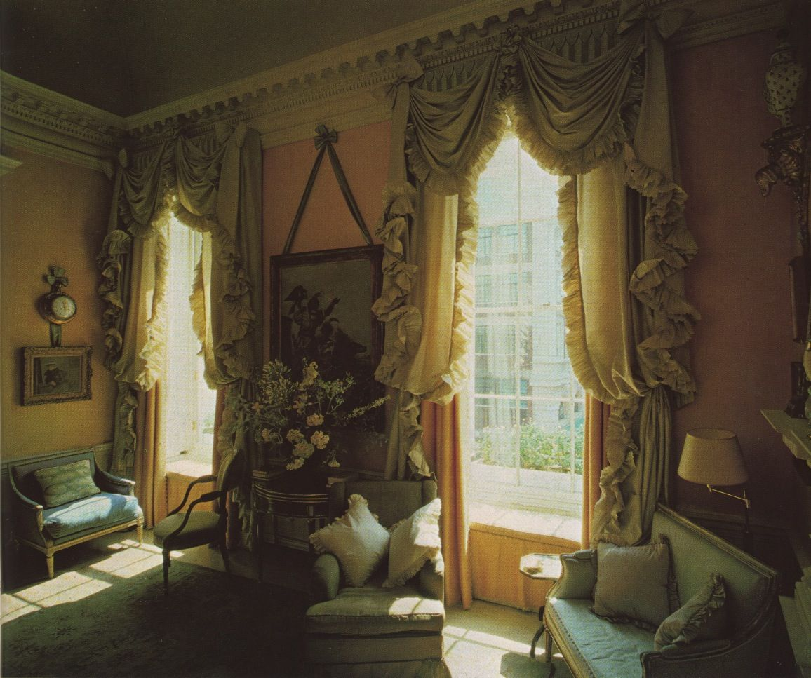 Bruce Curtains By John Fowler Outrageously Fabulous Victorian