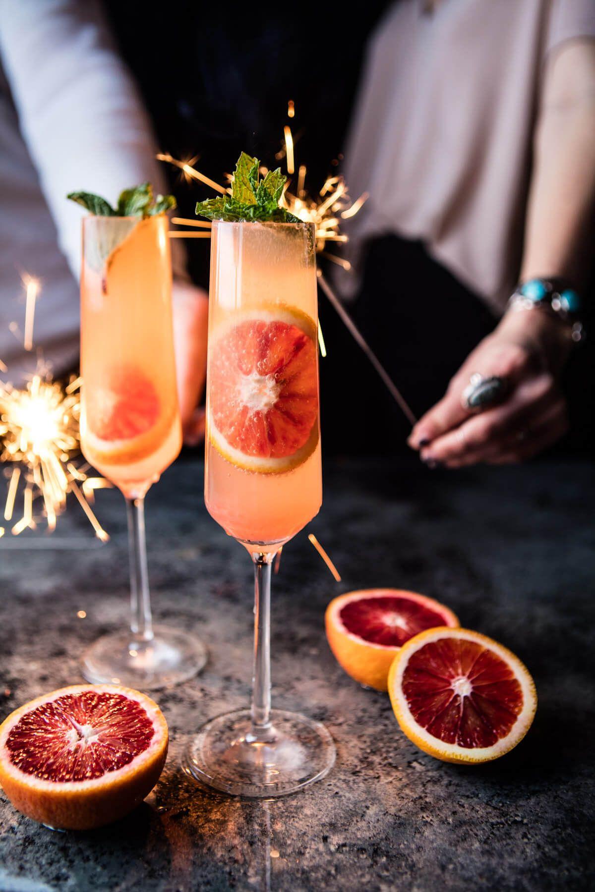 Blood Orange Champagne Mule   Rezept   Pinterest   Getränke ...