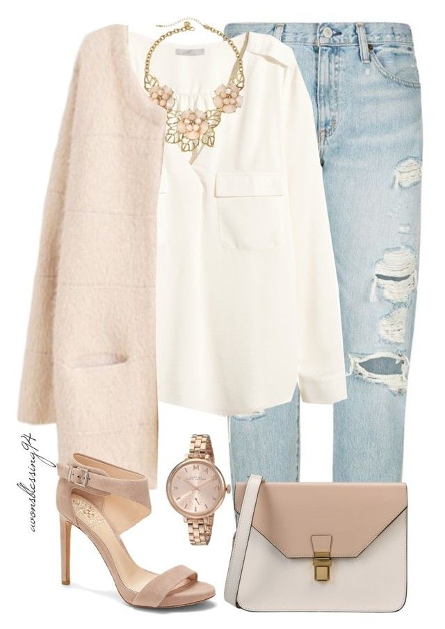 """""""I Think I'm Falling, Falling For You"""" by avonsblessing94 ❤ liked on Polyvore featuring moda, Denim & Supply by Ralph Lauren, H&M, Gemma Simone, Marc by Marc Jacobs, Vince Camuto e 8"""