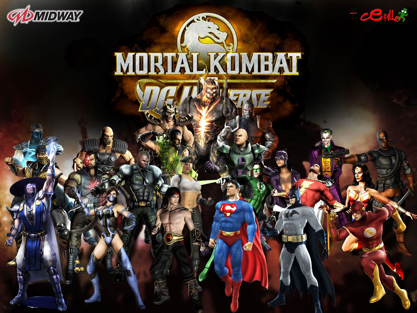 Mortal Kombat vs DC Universe 2 Your favorite Crossover