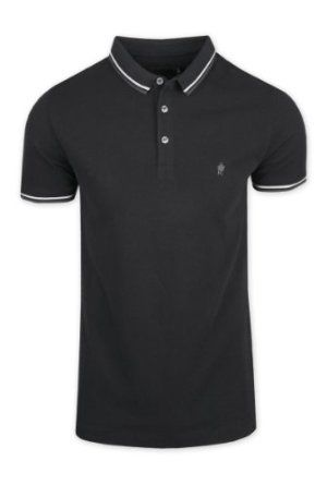Mens French Connection Tipping Polo Shirt,$48.71