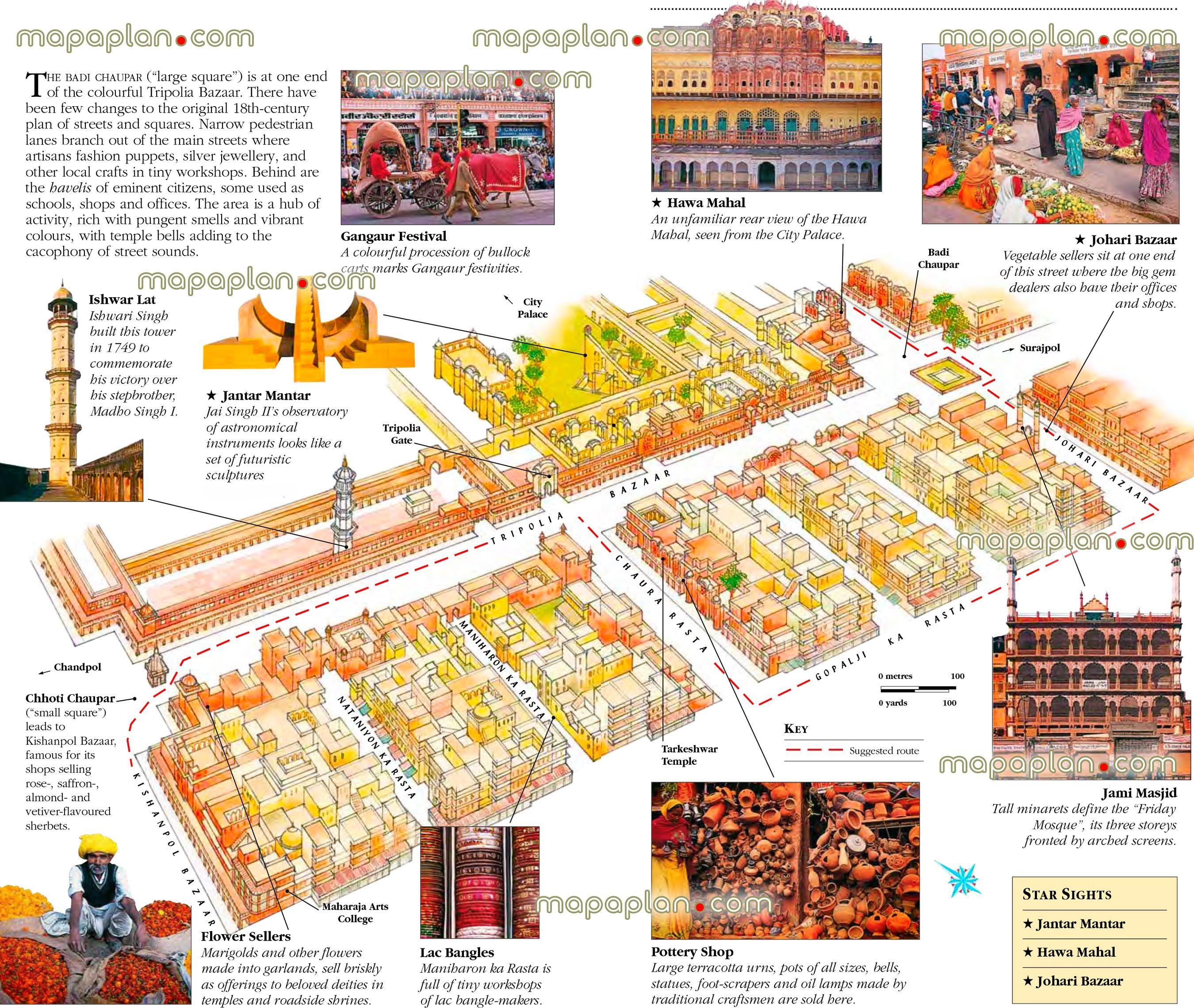 jaipur old pink city badi chaupar jaipur india virtual interactive