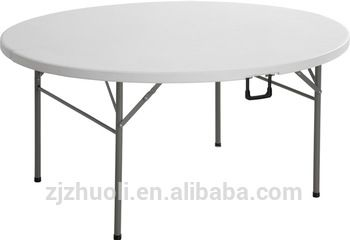 Plastic Folding In Half Round Table Made In China Buy Folding In Half Round Table Plastic Folding In Round Folding Table Folding Table Round Table And Chairs
