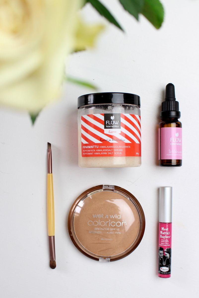 5 uusinta kosmetiikkasuosikkiani