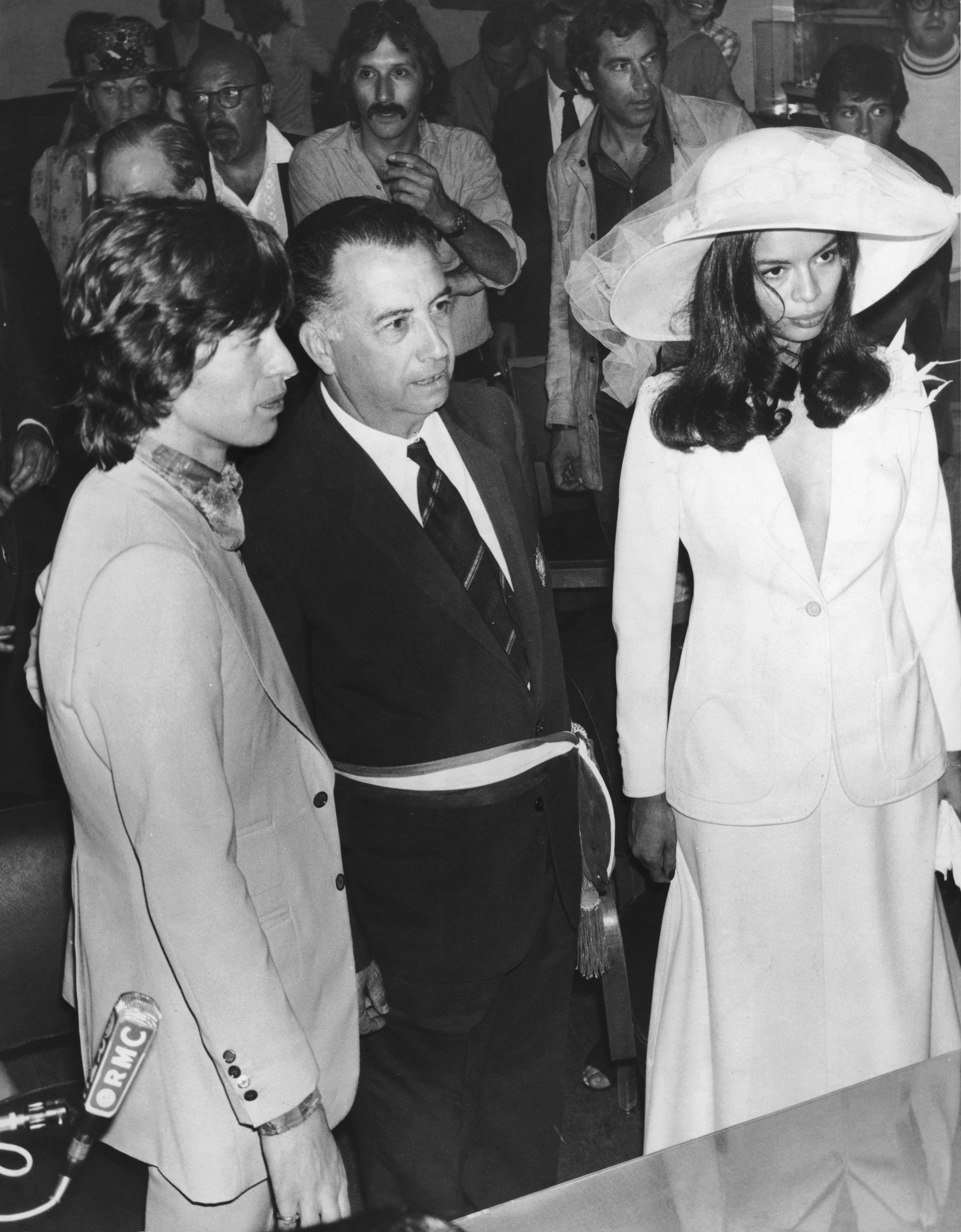 mick jagger and bianca perez morena de macias got married