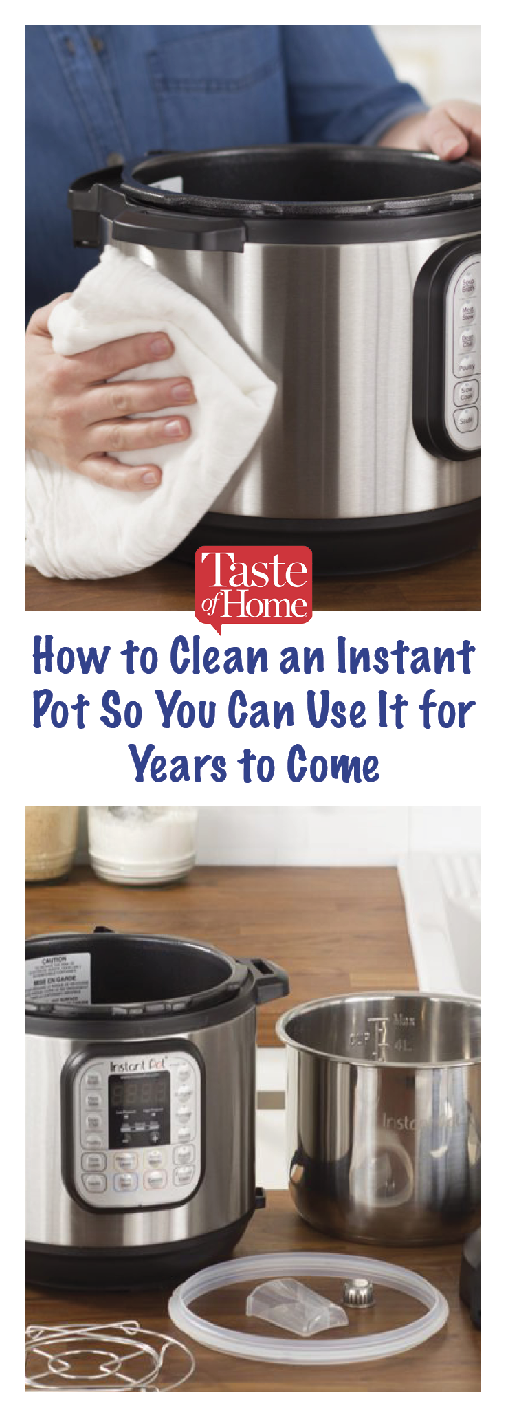 How to clean every inch of your instant pot pressure cooker