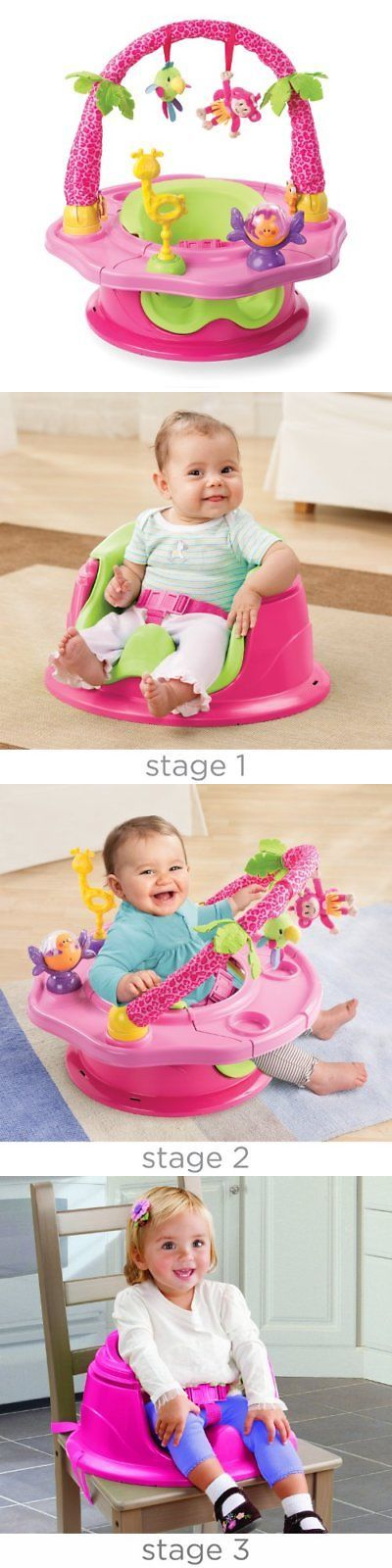 a591d2781 Summer Infant 3-Stage SuperSeat Deluxe Giggles Island Positioner ...