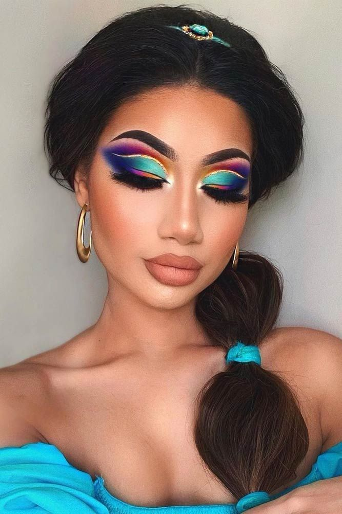27 latest Halloween makeup ideas to complete your look -  27 latest Halloween makeup ideas to complete your look  #Halloween #ideas #their #latest #to comple - #Complete #Hair #HairBeauty #Hairstyles #Halloween #IDEAS #Latest #Makeup #Nails