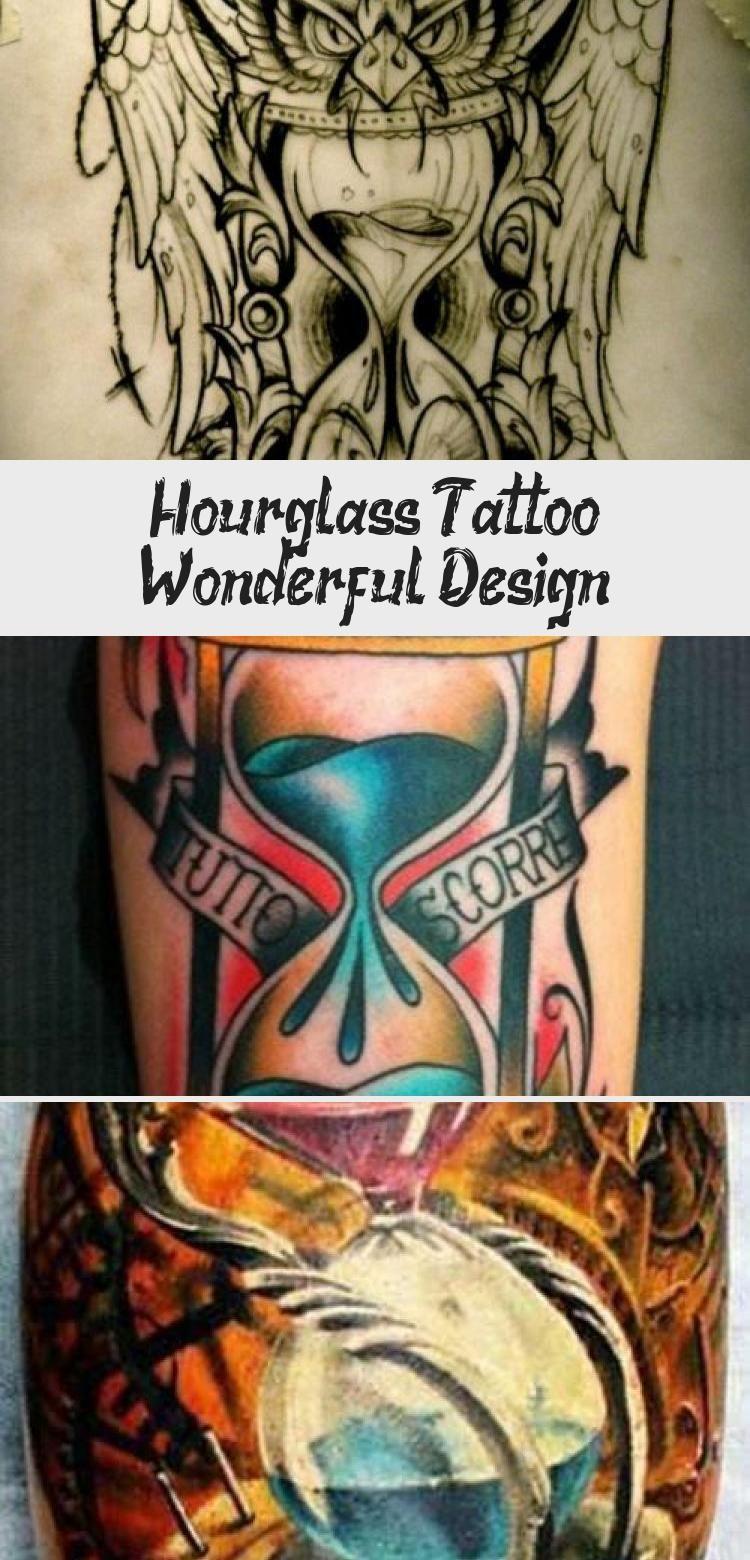 Photo of Hourglass Tattoo Wonderful Design – Best Tattoos
