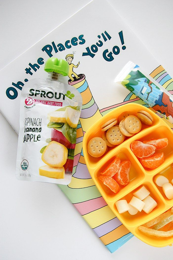 ideas to pack in a 2-year-old's school lunch box. Great toddler lunch ideas!