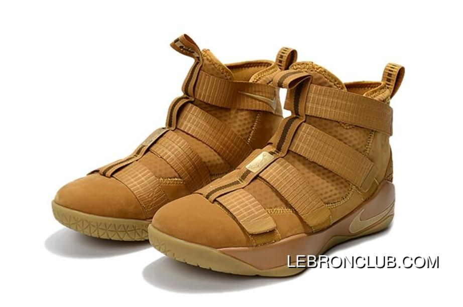 f3699d35e726f Nike LeBron Soldier 11 Wheat Wheat Gold Metallic Gold New Release in ...