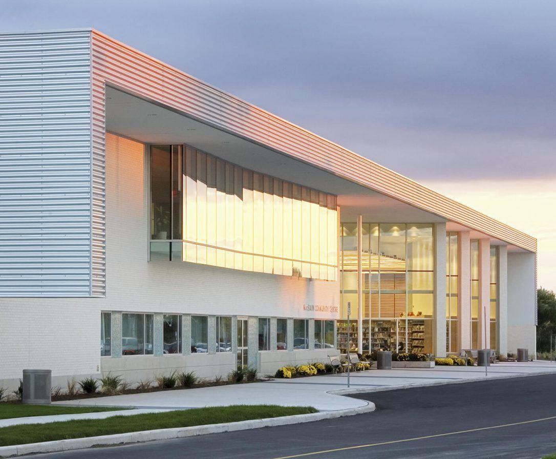 Cl 7040 Macbain Community Centre Niagara Falls Ontario Corrugated Metal Siding Gazebo Roof Metal Buildings