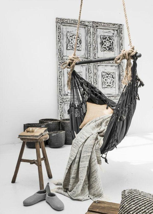 Hängematte selber machen - Stück mit Holz Gestell oder Ständer ...