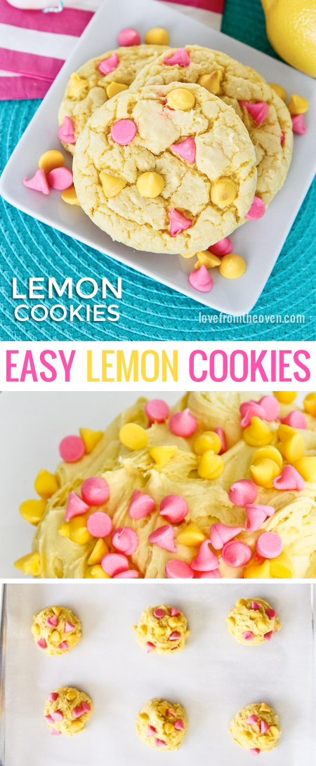 Easy Lemon Cookie Recipe