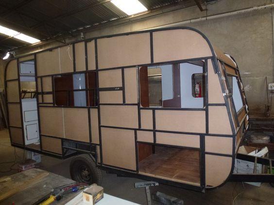 Resultado de imagen para mini casa rodante planos for Casa rodante para parrilla