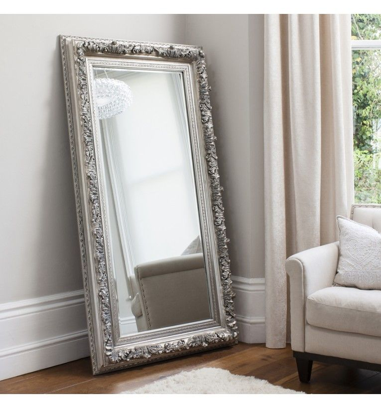 Large Silver Wall Mirror Uk