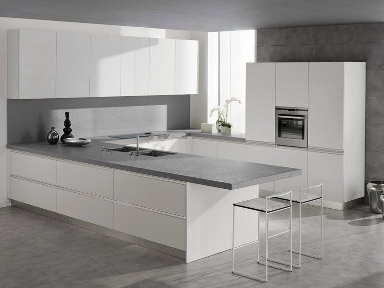 Immagini Cucine Moderne Bianche.Cucine Bianche Arredamento Moderno Cucina Design Cucine E