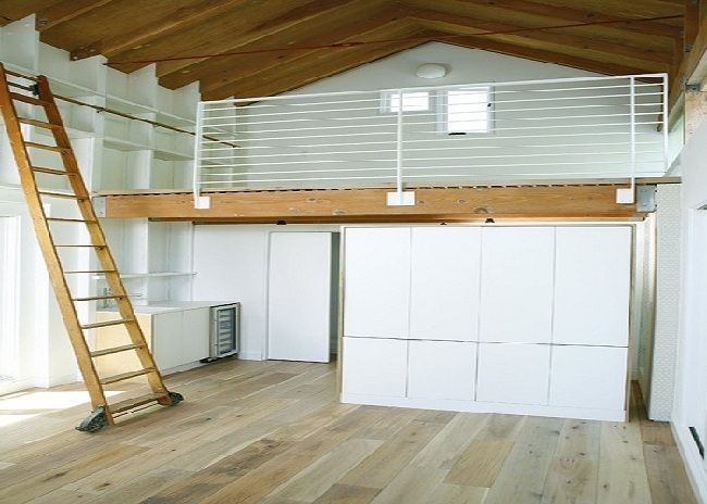 Modern Garage Storage With Two Floor