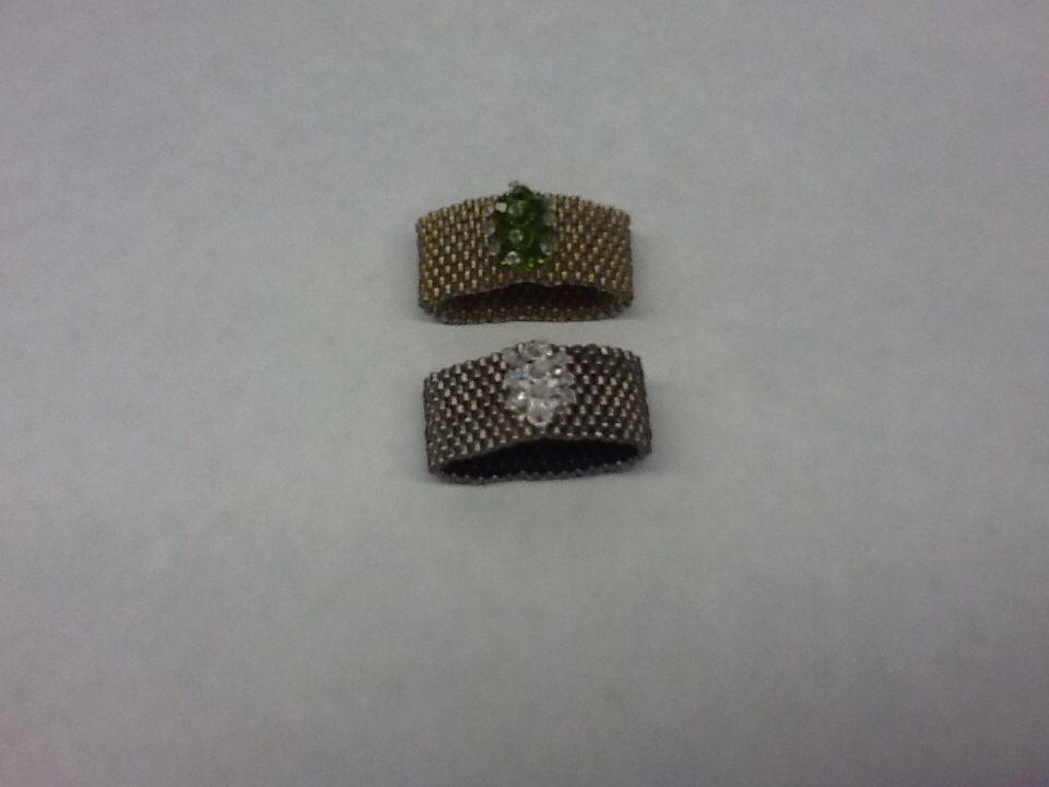 Mesh rings (my design)