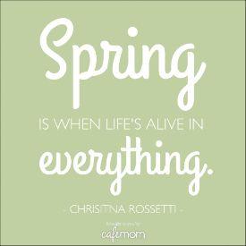 14 Inspiring Quotes To Celebrate Springtime