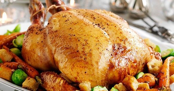 Photo of Capon cooked in spiced mead wine with roasted carrots, sprouts and croutons –  C…