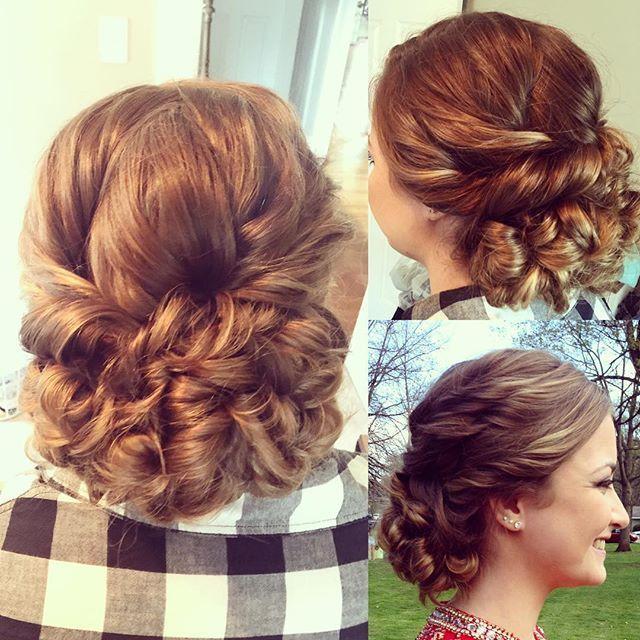 Prom Hairstyle Holland Patent Prom 2016 Tease And Makeup Prom Hair Cool Hairstyles Stylish Hair