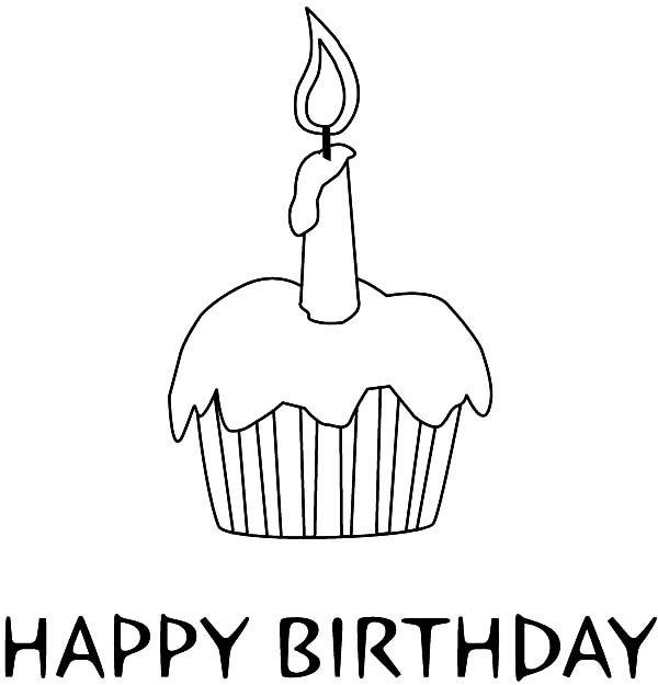 Birthday Candle NetArt Birthday colorsheets Pinterest