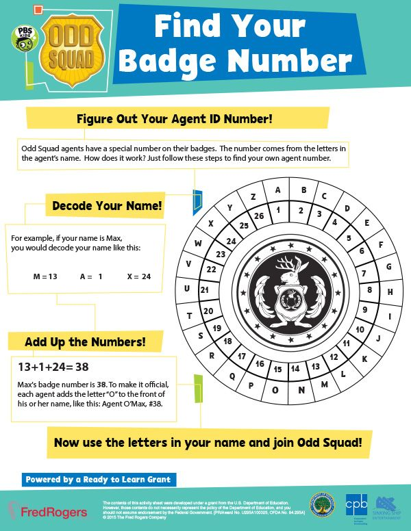 Find Your Badge Number With Images Secret Agent Party Spy