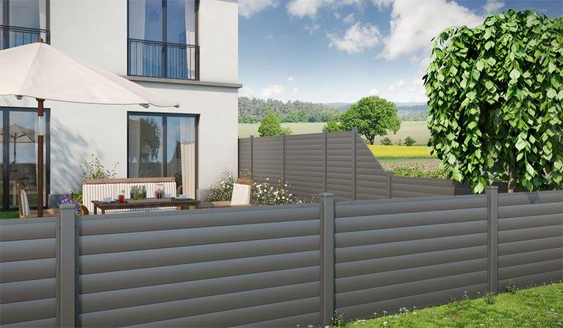Ist Der Sichtschutzzaun Aus Kunststoff Gute Alternative Zum ... Sichtschutzzaun Aus Kunststoff Gute Alternative Holzzaun