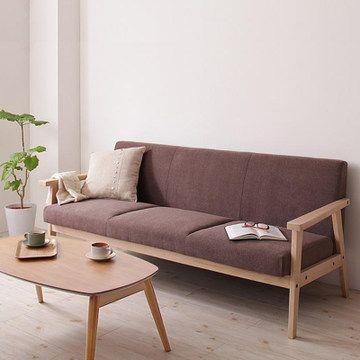 Fulllove客厅实木沙发咖啡厅沙发餐厅扶手椅小户型布艺沙发组合 Tmall