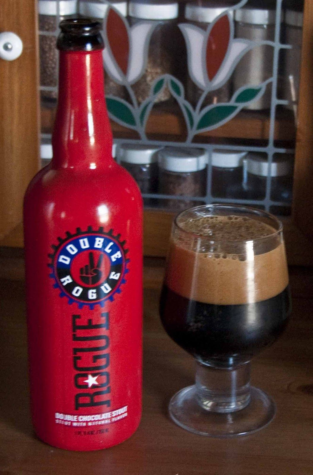 2/10/15 Dancing with Wolves #RogueDoubleChocolateStout ...