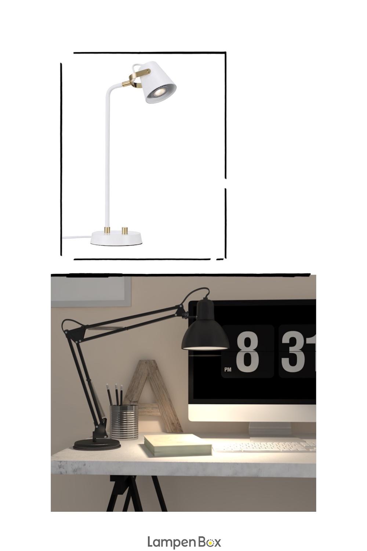 Je Heller Beleuchtet Der Arbeitsplatz Ist Desto Besser Steht Es Um Die Konzentration Gerade Bei Filigraneren Arbeiten Mit Bildern Lampen Und Leuchten Lampen Beleuchtung
