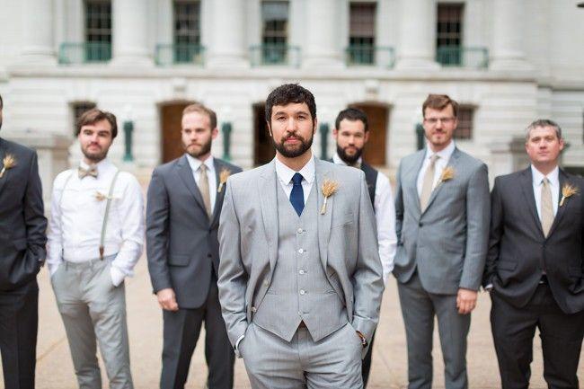 Navy and Gold Lakeside Wedding | Bliss, Lakeside wedding and Weddings