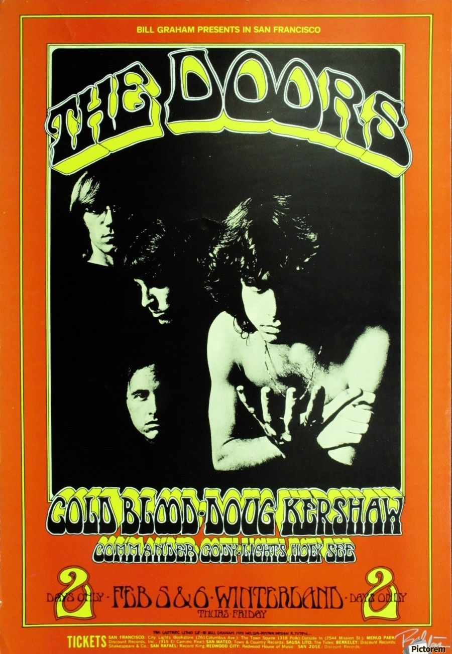 Image result for the doors posters vintage | The Doors