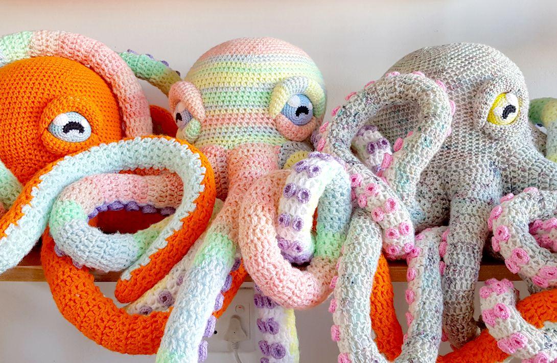 Project 050 Apollo The Octopus Crochet Patterns Crochet