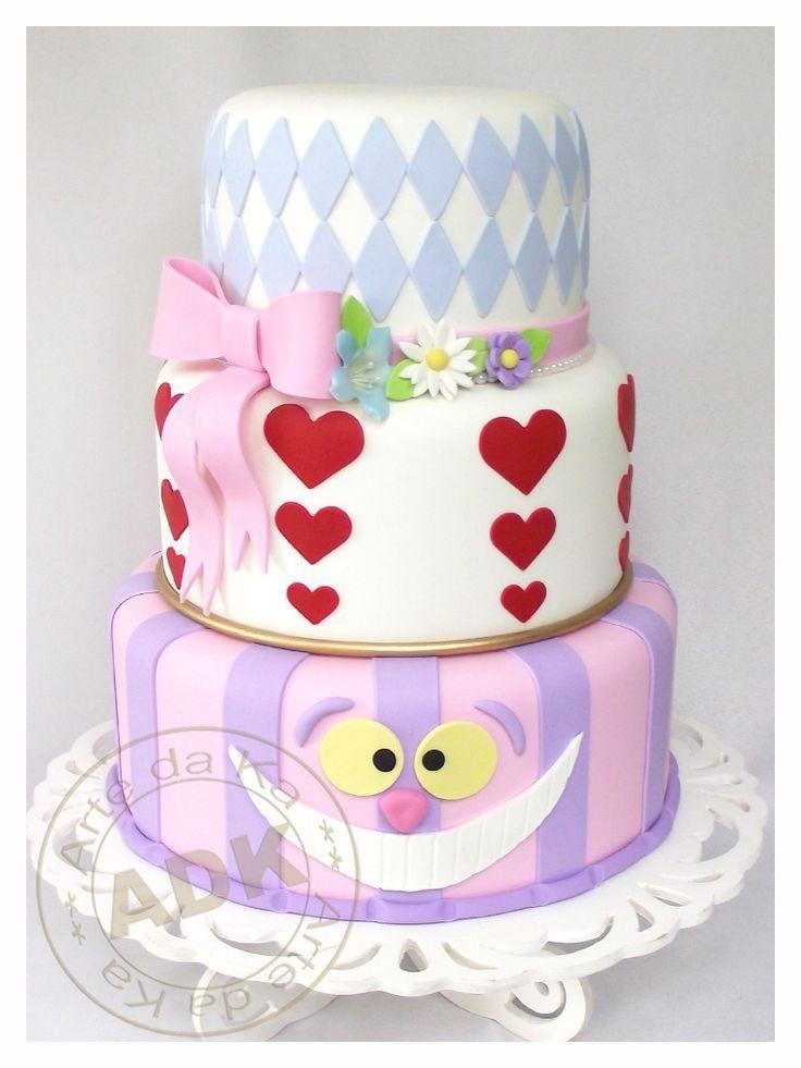torta alicia en el pais de las maravillas - Buscar con Google ...