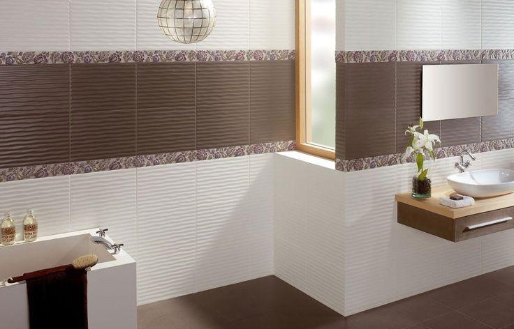 Azulejos para ba os modernos minimalistas peque os for Ceramica para revestir paredes