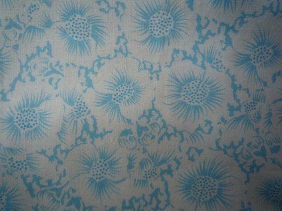Tissu coton par Labrocantedely sur Etsy