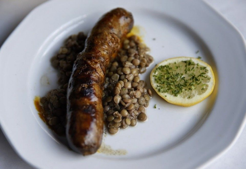 Merguez Sausage: New Orleans Jazz Fest food