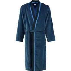Photo of Cawö Bademantel Herren Kimono 4839 blau/schwarz – 19 – M Cawöcawö