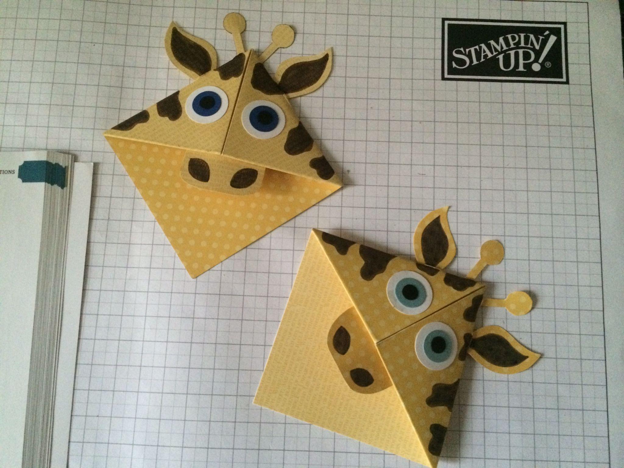 Giraffe Corner Bookmark | School Stuff | Pinterest ... - photo#4