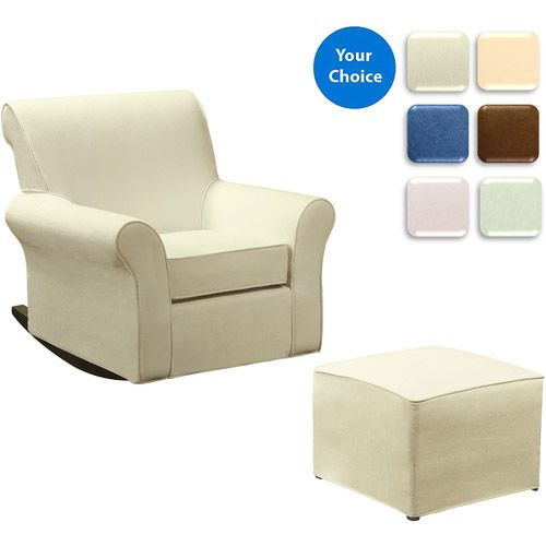 Customize Dorel Rocking Chair With Ottoman Choose Your