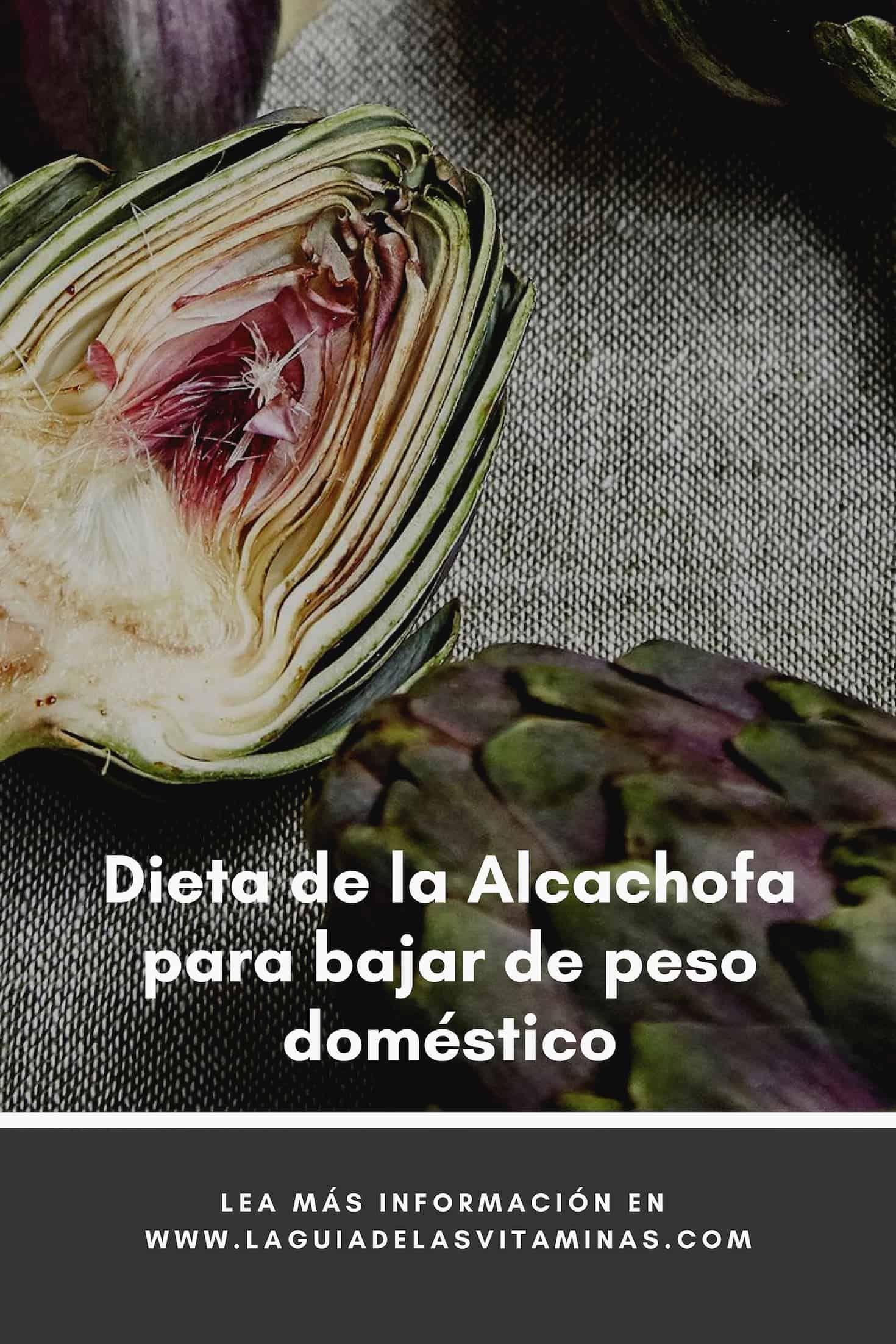 Alcachofa para bajar de peso contraindicaciones